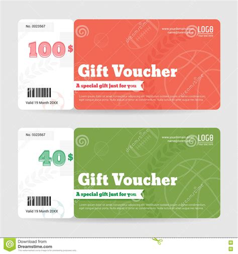 gift card giveaway template gift certificate voucher coupon template in sport theme