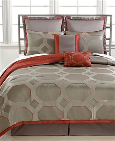 queen sale bed in a bag macys closeout alden 8 piece queen reversible comforter set