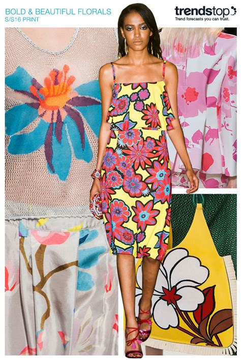 2016 fashion pattern trends trends spring summer s s 2016 print and floral patterns