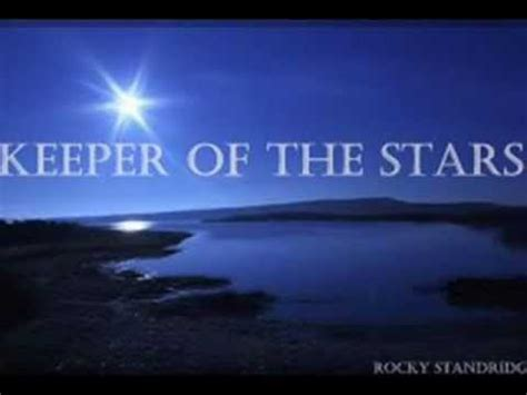 printable lyrics to keeper of the stars by tracy byrd keeper of the stars lyrics on screen youtube