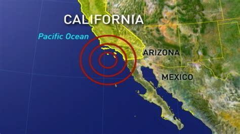 earthquake california today earthquake in california right now