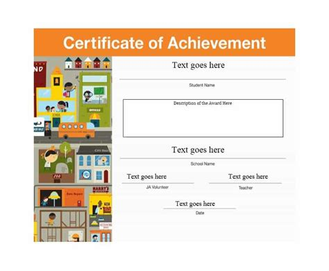 certificate of accomplishment template free 23 accomplishment certificate templates certificate