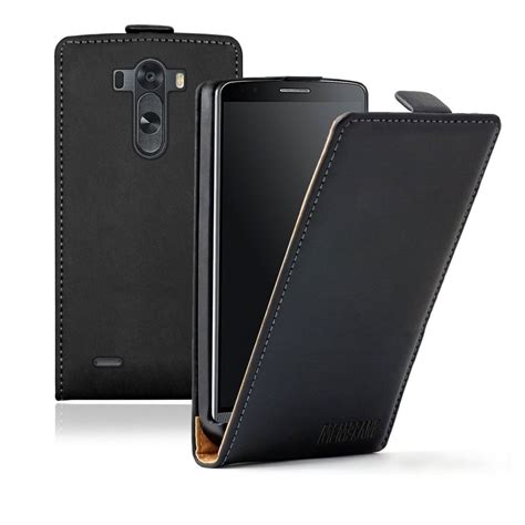 Flipcase Huanmin Lg G3 ultra slim black leather flip cover pouch for mobile phone lg g3 ebay