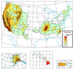 us seismic design category map seismic map