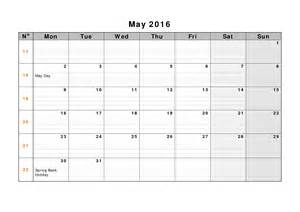 may template may 2017 weekly printable calendar blank templates