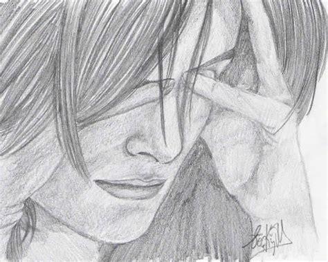 imagenes a lapiz tristes dibujos a lapiz de enamorados tristes imagui