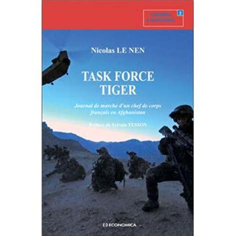 task force tiger journal de marche d'un chef de corps