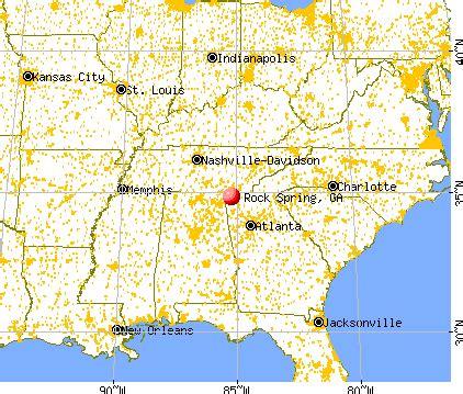 rock spring, georgia (ga 30739) profile: population, maps