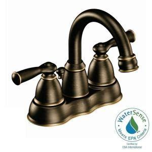 moen 87553 banbury high arc kitchen sink faucet with side moen banbury 4 in centerset 2 handle high arc bathroom