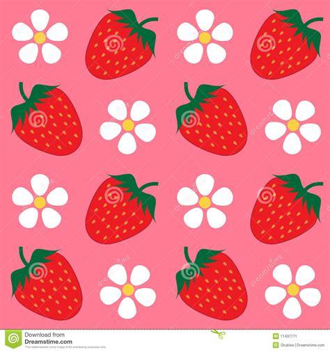 wallpaper cartoon strawberry strawberry wallpaper background stock vector image 11437771