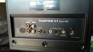 Creative inspire 51 digital 5500 speaker system for sale in sandyford dublin from luis silva