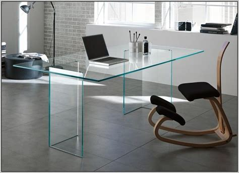 Glass Desk For Office Best 25 Ikea Glass Desk Ideas On Ikea Office Hack Ikea Wood Desk And White Desk