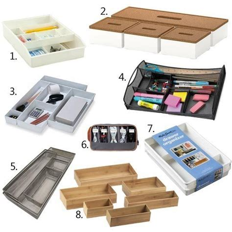 Nothing In That Drawer by 25 Best Ideas About Desk Drawer Organizers On