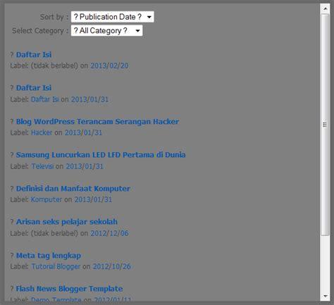 cara membuat daftar isi untuk kliping titit tante cara membuat daftar isi untuk blog