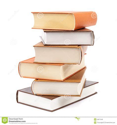 imagenes de libros sin fondo libros apilados en un fondo blanco foto de archivo