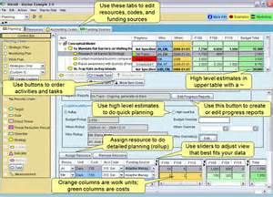 miradi software features