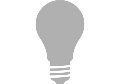 light bulb vector vecteezy