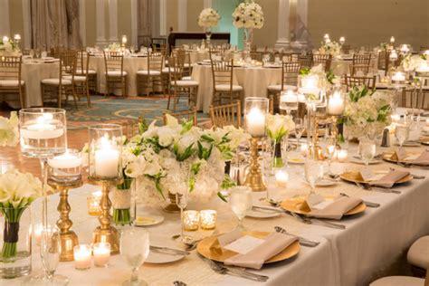 wedding themes gold and cream gold and cream reception decor elizabeth anne designs