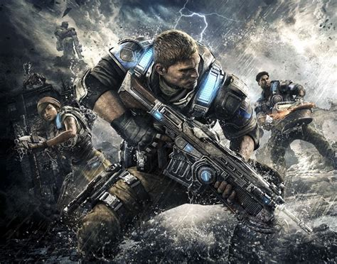 Xbox Gears Of War Launch by Gears Of War 4 Launches On Xbox One Geeky Gadgets