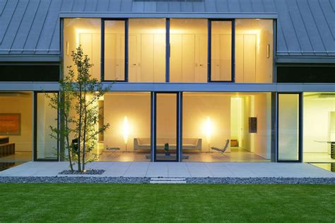 Modern Livingroom Design Living Space Lighting Glass Walls Terrace M 246 Llmann