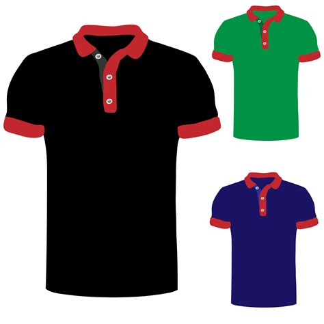Kemeja Verde polo shirt illustration free stock photo domain pictures