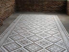 concrete templates modello concrete carpets floor stencils paint pattern