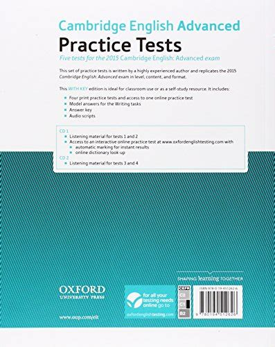 libro practice tests for cambridge libro cambridge english advanced practice tests cae 2015 advanced practice tests student s