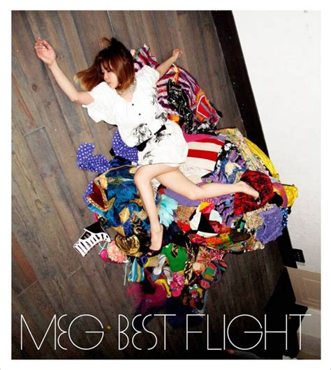 best flight 画像 meg 旅立ち をテーマにベスト選曲アルバム best flight 発売 3 3 ライブドアニュース