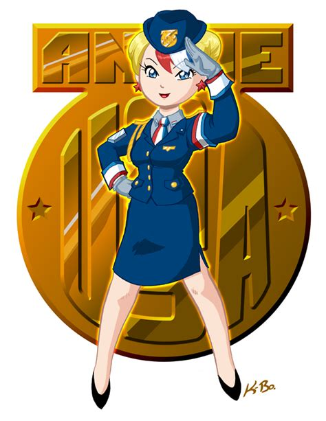 Anime Usa by Anime Usa Mascot 2011 By Kevinbolk On Deviantart