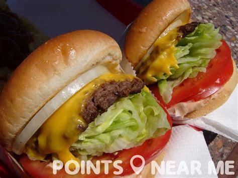 fast food near me points near me
