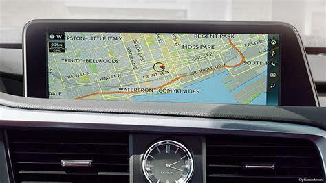 lexus navigation package 2017 lexus rx luxury crossover packages lexus