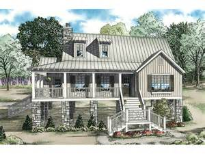Rustic Cabin Bedrooms - maguire raised lowcountry home plan 055d 0847 house
