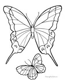 butterfly coloring pages pdf easy butterfly drawings for free coloring pages