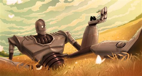 The Iron Giant by Vaughan Flanagan S Illustration Blog The Iron Giant