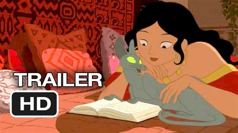 anime film with cats the rabbi s cat official us release trailer 1 2011