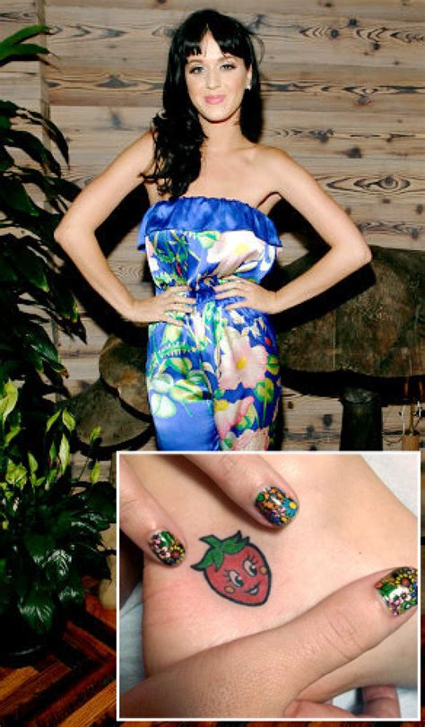 new tattoo katy perry cara delevingne celebrity ink ny daily news