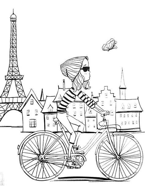 printable paris pictures revista vida simples colorir adult coloring pages paris