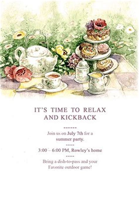 morning tea invitation template free quot tea quot printable invitation template customize add