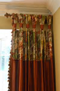 how to make custom drapes gathered tap top drapes