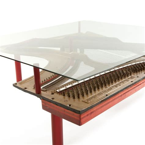 Piano Coffee Table Piano Coffee Table Crafted From Real Knabe Piano Components Home Crux
