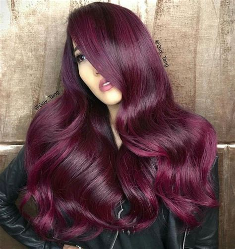 Black Hair To Raspberry Hair | image result for ion radiant raspberry hair color red