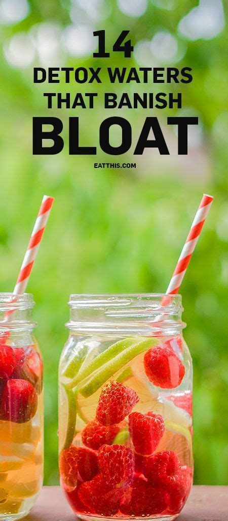 Belly Bloat Detox Water by 25 Best Ideas About Bloating Detox On Weight
