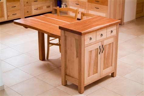 Kitchen Cabinet Table Island Cabinet And Dining Table Combo Eclectic Dining Tables Tel Aviv
