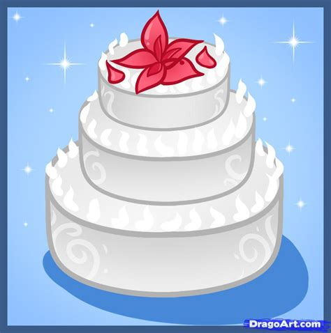 Hochzeitstorte Zeichnung by Easy Drawing Cake Ideas And Designs
