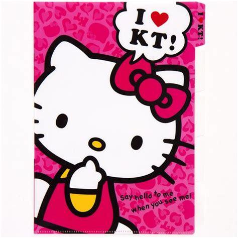 Hallowen Pocket Pink pink hello a4 plastic file folder 5 pocket folder stationery kawaii shop modes4u