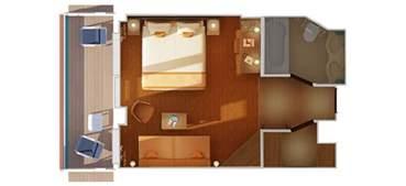 carnival cruise suites floor plan carnival vista promises more fun features
