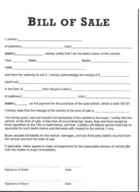 Printable Sle Tractor Bill Of Sale Form Laywers Template Forms Online Pinterest Bill Of Bill Of Sale Form Nc Template