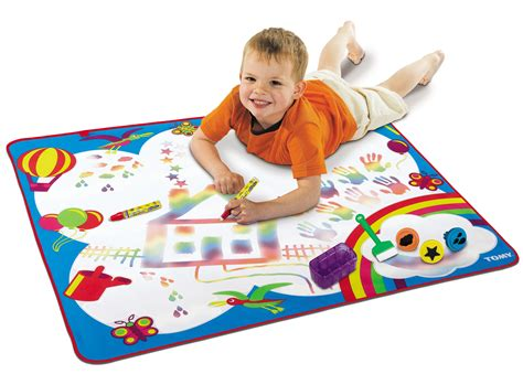 aquadoodle drawing mat tomy rainbow aquadoodle painting drawing mat baby