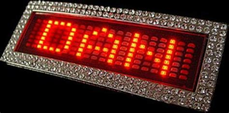 light up belt led belt buckle cool
