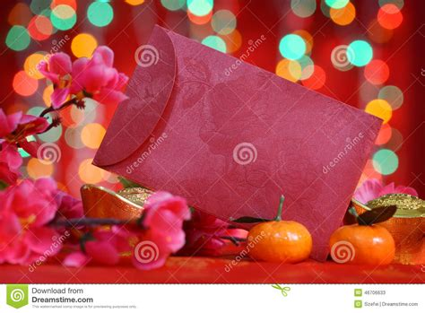 new year ang pow tradition new year packet stock photo image 46706633